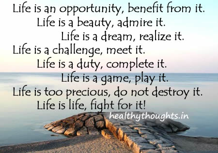 Life Is An Opportunity 7 Day Challenge Day 4 Thoughts And Views